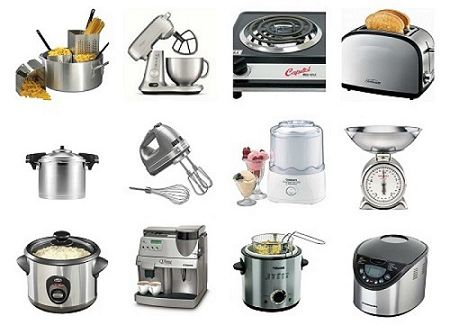 Vocabulary To Describe Small Kitchen Appliances And Equipment   Learn  English With Africa
