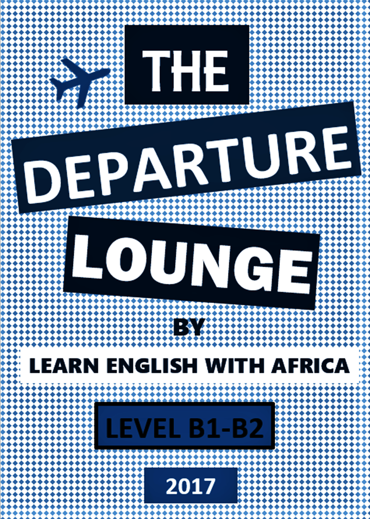 E-book Cover-The Departure Lounge-Learn English With ...